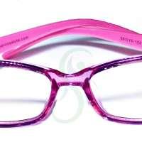 910 Kids Anti blue light glasses for girl Violet-Pink